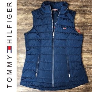 NWT Tommy Hilfiger Sport Puffer Vest w/Hood